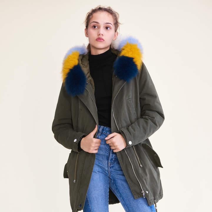 Maje Parka with removable lining