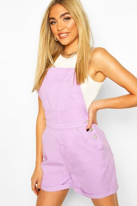 boohoo Denim Overall Short