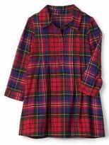 Gap Plaid flannel shirtdress