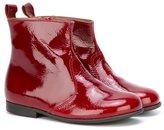Pépé varnished boots - kids - Goat Skin/Leather/rubber - 32
