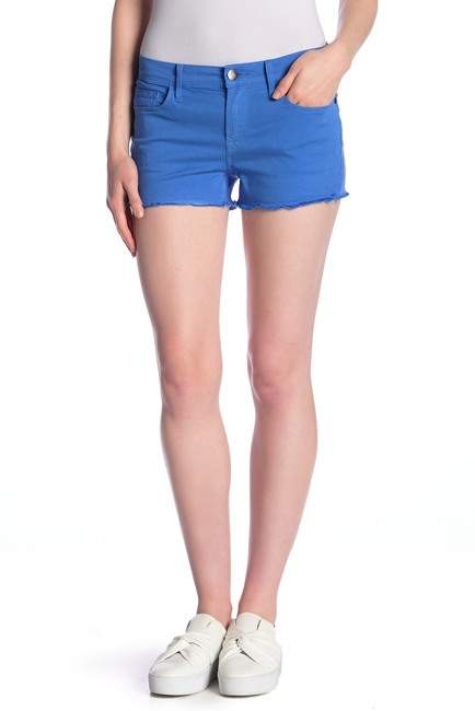 Le Cutoff Frayed Shorts