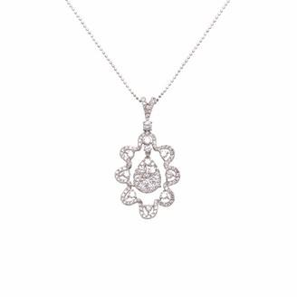 Ri Noor Long Diamond Pendant Necklace