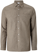 Libertine-libertine Hill Miracle Flannel Shirt, Stone
