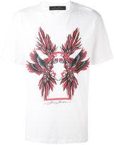 Bruno Bordese parrot print T-shirt