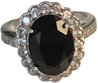 Non Signé / Unsigned Non Signe / Unsigned Bagues Cocktails Black Silver Gilt Rings