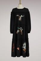Stella Jean Long dress with ducks