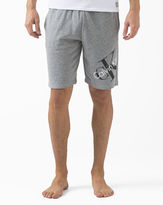 Calvin Klein Underwear Retro Grey Jersey Shorts with Logo