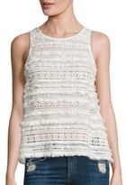 Generation Love Lilith Cotton Lace Tank Top