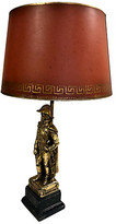 One Kings Lane Vintage Borghese Napoleonic Table Lamp - Von Meyer Ltd. - gold/coral/black