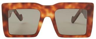 Loewe Square shaped oversize sunglasses