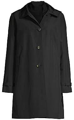 Jane Post Women's Wool Undercoat & Techno Topper