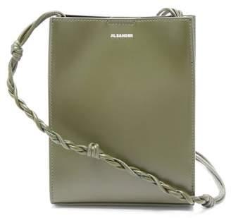 Jil Sander Tangle Small Knotted-strap Leather Cross-body Bag - Womens - Khaki