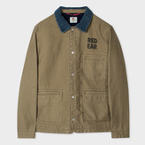 Paul Smith Men's Washed Khaki Cotton Red Ear Cover-All Jacket