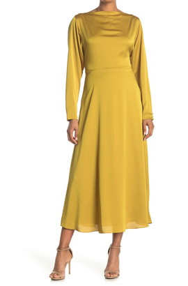 Kate Spade Twist Back Midi Dress