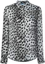 Blumarine leopard print shirt