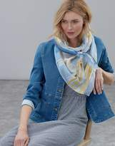 Joules Atmore Printed Square Scarf