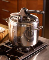 Lagostina Domina Vitamin Stainless Steel 7.4-Qt. Pressure Cooker