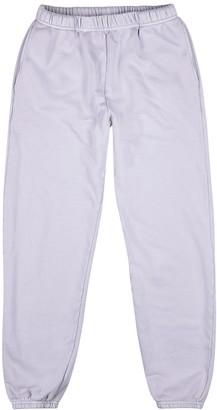 LES TIEN Lilac Cotton Sweatpants