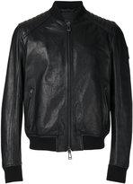 Belstaff leather jacket - men - Leather/Viscose - 48
