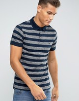 Jack Wills Polo Shirt In Dark Indigo
