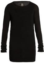 Rick Owens Round-neck Fine-knit Top