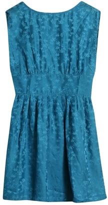 Sessun Blue Silk Dress for Women