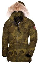 Canada Goose 'Solaris' Regular Fit Down Parka with Genuine Coyote Fur