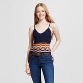 Mossimo Women's Crochet Tank Multi Stripe