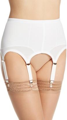 Rago Shapewear Women's Six Strap Shaper Garter Belt