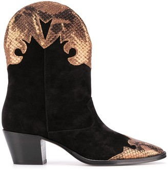 Paris Texas Western ankle boots