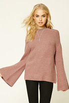 Forever 21 FOREVER 21+ Brushed Mock Neck Sweater