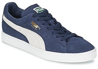 Puma SUEDE CLASSIC women's Shoes (Trainers) in Blue