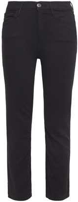 3x1 Cropped Mid-rise Slim-leg Jeans