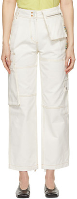ANDERSSON BELL Off-White Alex Cargo Trousers
