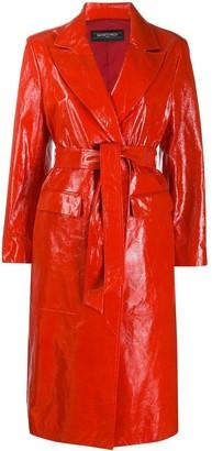 Simonetta Ravizza Frida textured trench coat