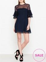 Keepsake Say You Will Ruffle Sleeve Mini Dress