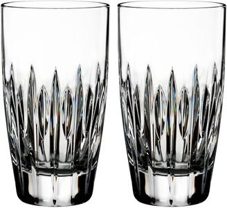 Waterford Mara Set of 2 Lead Crystal Highball Glasses