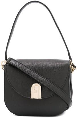 Furla Grained-Effect Shoulder Bag
