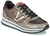 Victoria DEPORTIVO CICLISTA GLITTER women's Shoes (Trainers) in Gold
