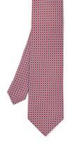 J.Mclaughlin Italian Silk Tie in Square Link