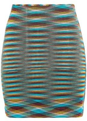 Missoni Mare Stretch-knit Mini Skirt