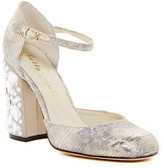 Bettye Muller Bejeweled Chunky d'Orsay Pump