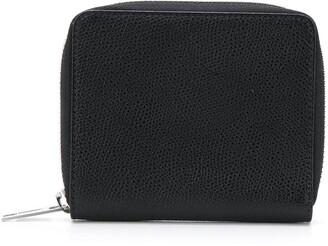 Maison Margiela Zip-Around Grainy Leather Wallet