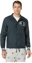 Champion LIFE Satin Coaches Jacket (Black) Men's Clothing