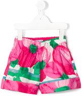 Mi Mi Sol - floral print shorts - kids - Cotton - 2 yrs