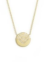 ONE JEWELRY 14K Harper Diamond Chevron Necklace