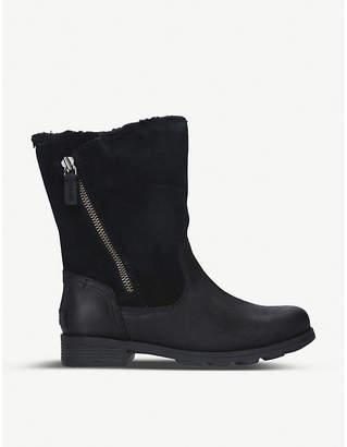 Sorel Emilie foldover suede boots