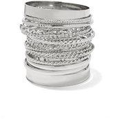 New York & Co. 20-Piece Bangle Bracelet Set