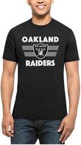'47 Men's Oakland Raiders Two Bar Splitter T-Shirt