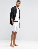 Asos Loungewear Lightweight Short With Contrast Waistband